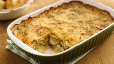 Chicken-Fennel-Potato au Gratin Recipe