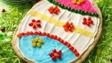 Easter Egg Cookie Pizza Recipe