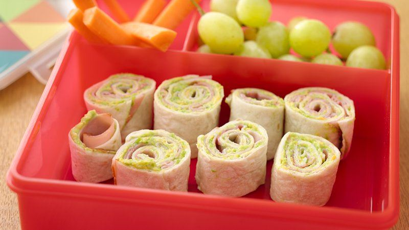 Easy Peasy Ham and Cheesy Roll Ups