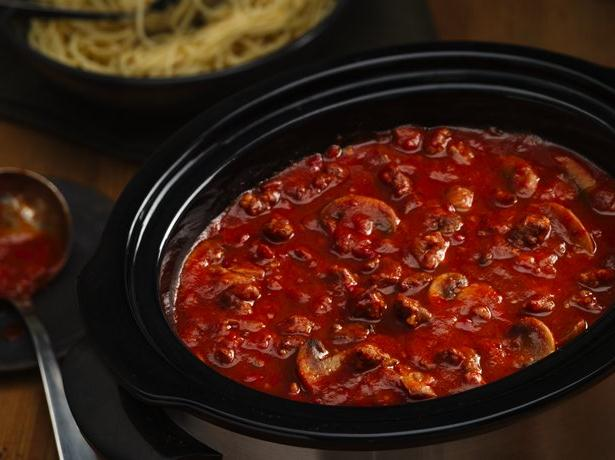 Easy Weeknight Slow Cooker Spaghetti Sauce