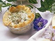 Garden Phyllo Quiches