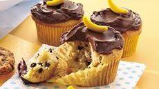 Banana-Chocolate Chip Cupcakes Recipe