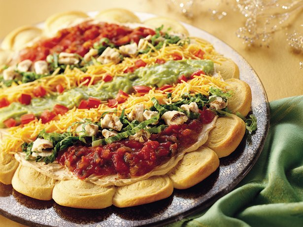 Chicken Taco Crescent Pizza