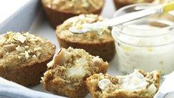 Healthified Ginger-Pear Muffins