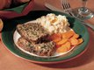 Spinach and Pine Nut Meat Loaf