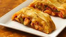 Chicken Fajita Crescent Braid Recipe