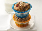 Cereal Apple-Cran Muffins