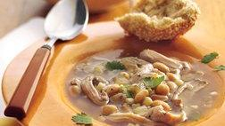 White Chicken and Corn Chili