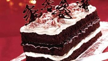 Peppermint Cream Brownie Torte