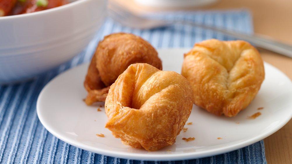 Cream Cheese-Crescent Wontons recipe from Pillsbury.com