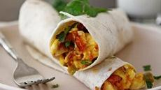 Scrambles Breakfast Burritos Recipe