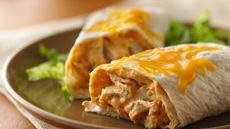Creamy Turkey Burritos Recipe