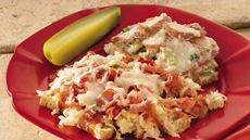 Open-Faced Reuben Casserole Recipe