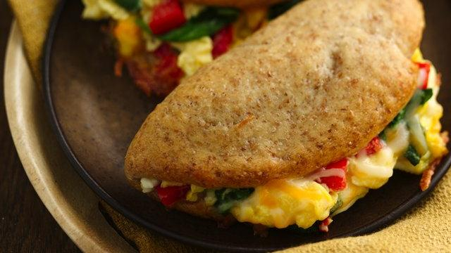 Eggy Veggie Pockets