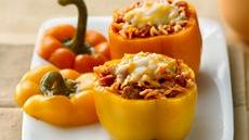 Pizza-Stuffed Peppers Recipe