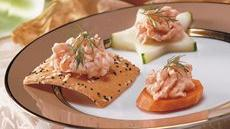 Cucumber, Carrot and Smoked Salmon Crudités Recipe