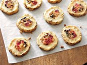 Fruitcake-Filled Icebox Cookies