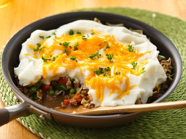 Shepherd's Pie Skillet recipe from Betty Crocker