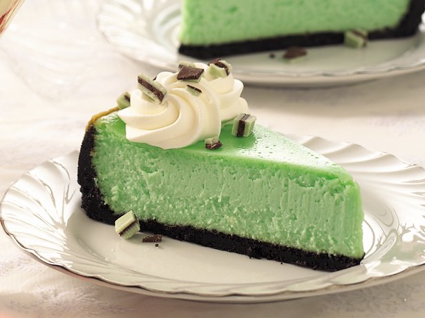 Crme de Menthe Cheesecake