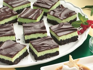 Mint&#32;Cheesecake&#32;Squares
