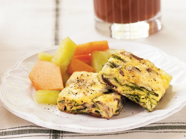Mushroom-Chard Frittata
