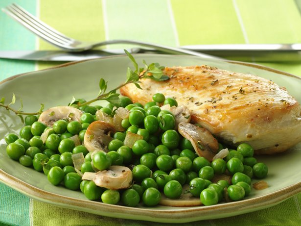 French Country-Style Peas