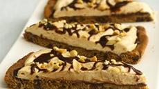 Chocolate-Peanut Butter Cookie Pizza (cookie dough tub) Recipe