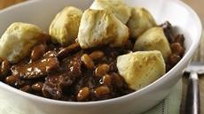 BBQ Beef Biscuit Bake Recipe