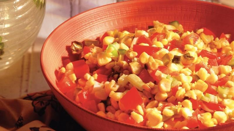 Roasted-Corn Salsa