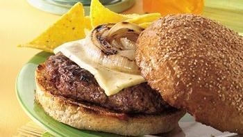 Grilled Chili Burgers