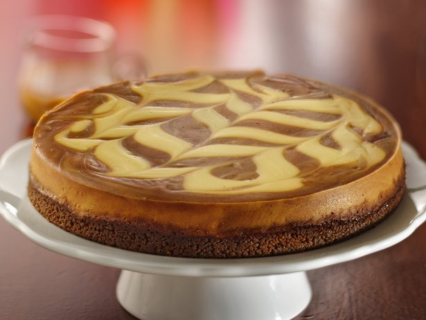 Caramel-Apple Butter Cheesecake