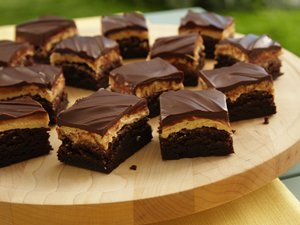 Peanut Butter Truffle Brownies