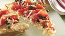 Bruschetta Appetizer Tart Recipe