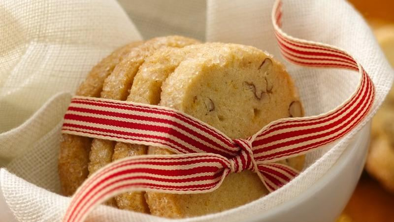 Orange-Pecan-Ginger Cookies