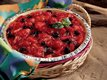 No-Bake Triple-Berry Pie