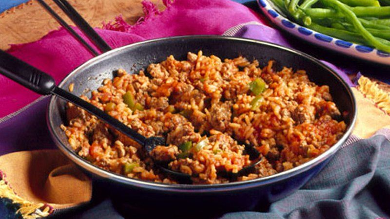 Easy Spanish Rice (lighter recipe)