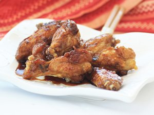 Citrus&#32;Soy&#32;Glazed&#32;Wings