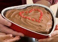 Chocolate Heart Cake