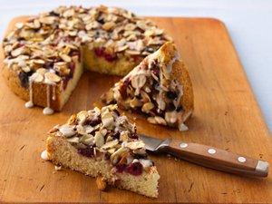 Mixed-Berry Coffee Cake