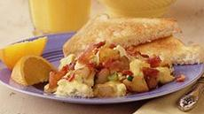 Potato, Bacon and Egg Scramble Recipe