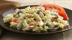 Creamy Tuna Primavera  Recipe