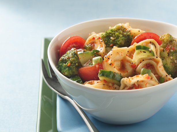 Marinated Garden Tortellini Salad