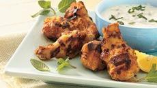 Grilled Seasoned Chicken Drummies Recipe