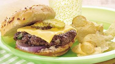 Hearty Hoedown Grilled Burgers