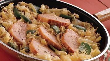 Smoked Pork and Sauerkraut