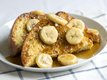 Spicy Spiked Banana French Toast