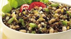 Wild Rice and Bean Salad Recipe