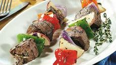 Grilled Steak and Potato Kabobs Recipe