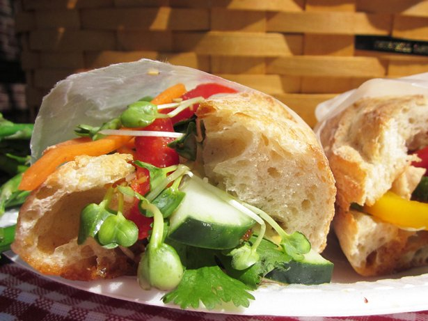 Vietnamese Picnic Sandwich (Bahn mi)