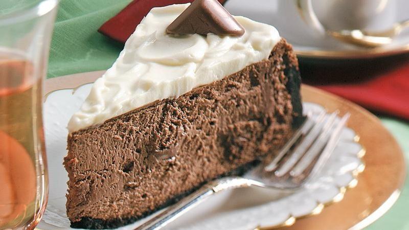 Mocha Truffle Cheesecake